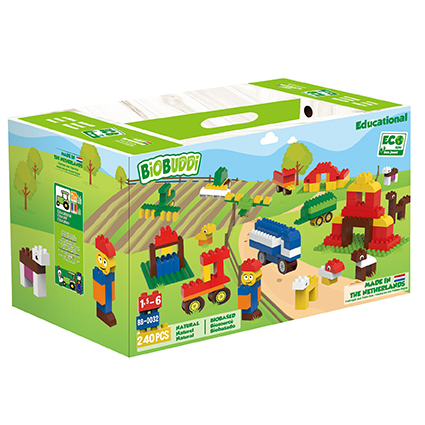 BiOBUDDi Farm Education Set