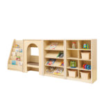 Elegant Adjustable Book Shelf Unit