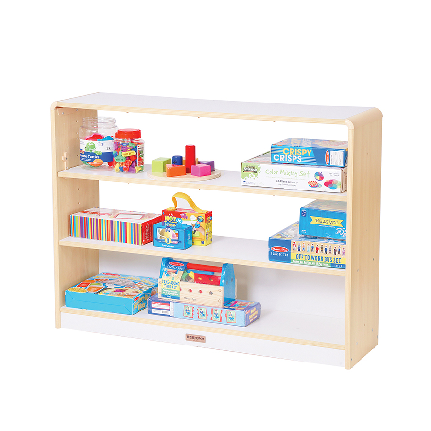 Alps Open Back 3 Shelf Unit