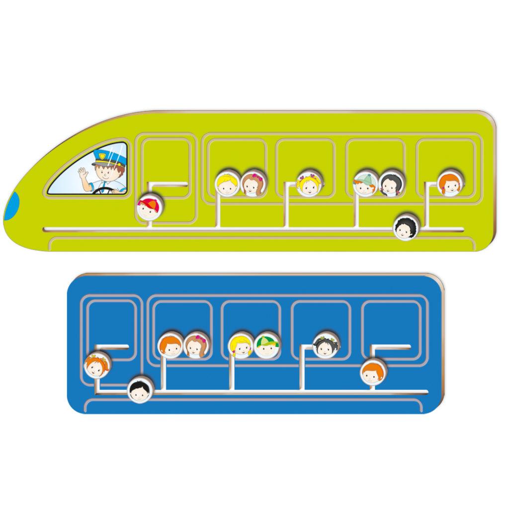 Train Coach Sensory Panel