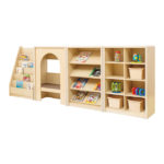 Elegant Sloping Book Display Unit