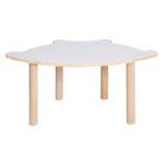 Alps Fan Shape Table H460mm