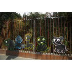 Jungle Animal Chalkboards (Set of 5)