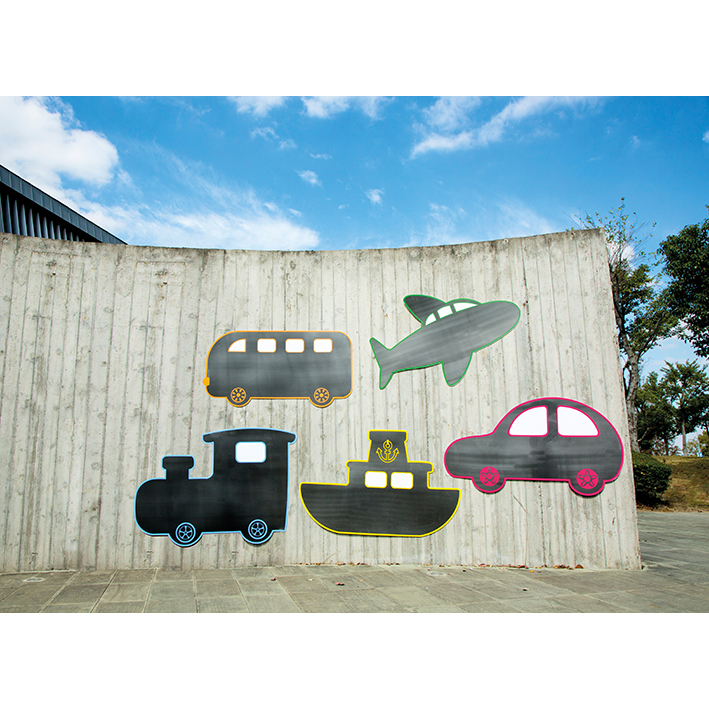 Transport Chalkboards (Set of 5)