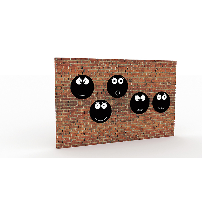 Emotions Chalkboards (Set of 5)