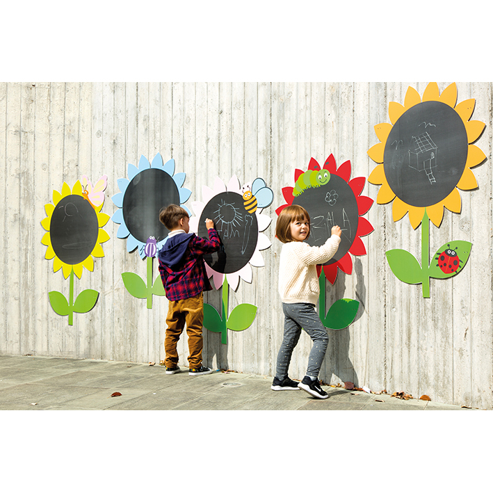 Flower Chalkboards (Set of 5)