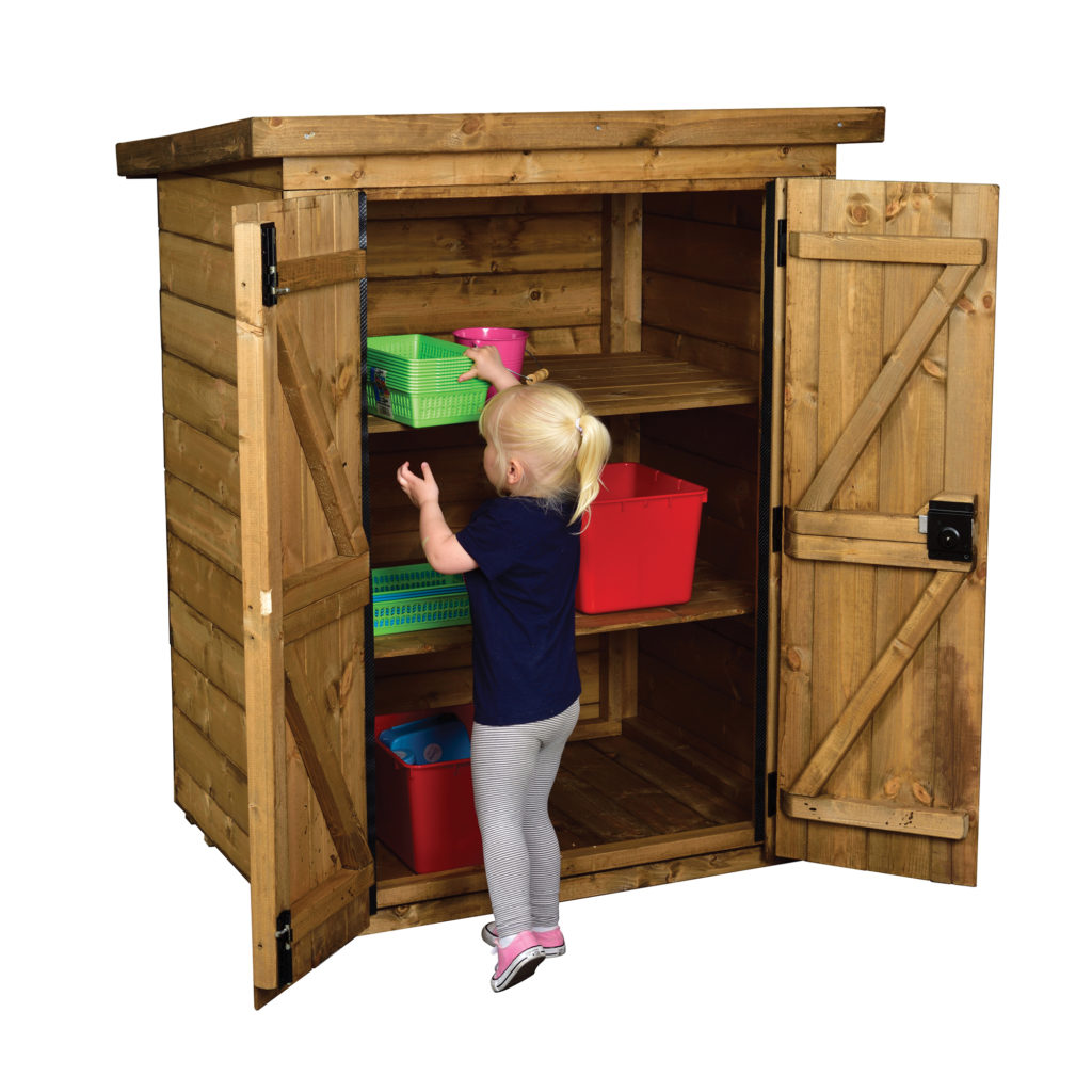 Small Lockable Storage Shed (WITH Installation)