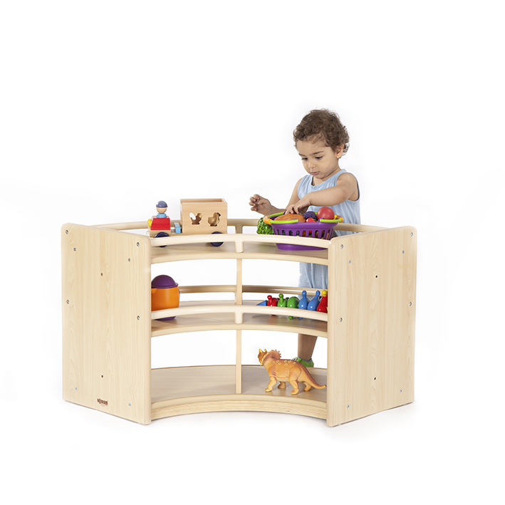 Just for Toddlers Curved Cabinet