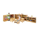 Zona General Storage and Seating Set