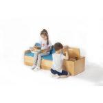 Zona Reading Sofa with Storage