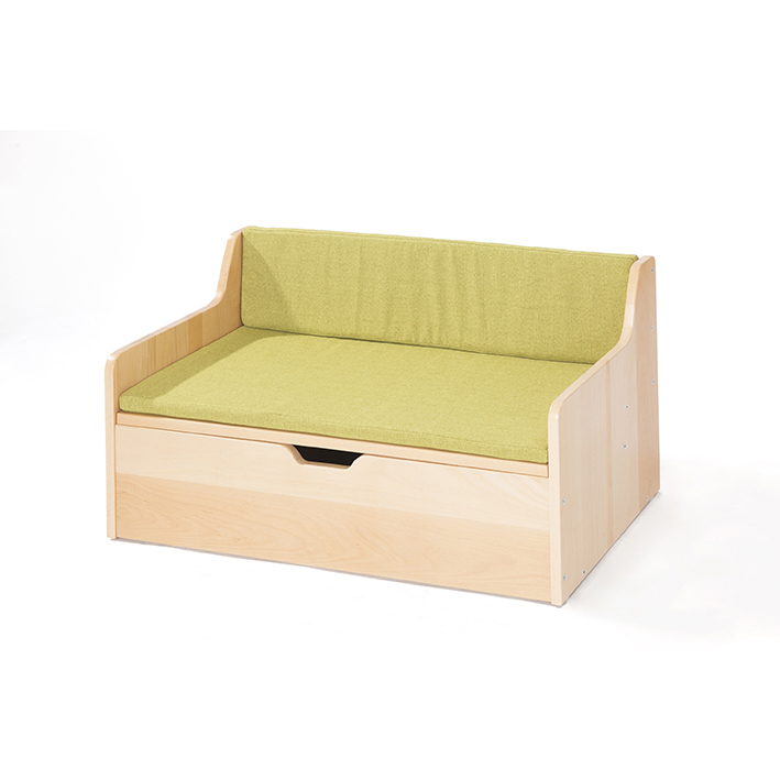 Zona Green Cushion for Reading Sofas