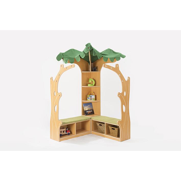 Zona Tree House Library Corner