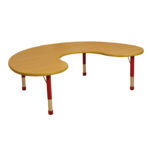 Milan Group Table Red – 6 Seater