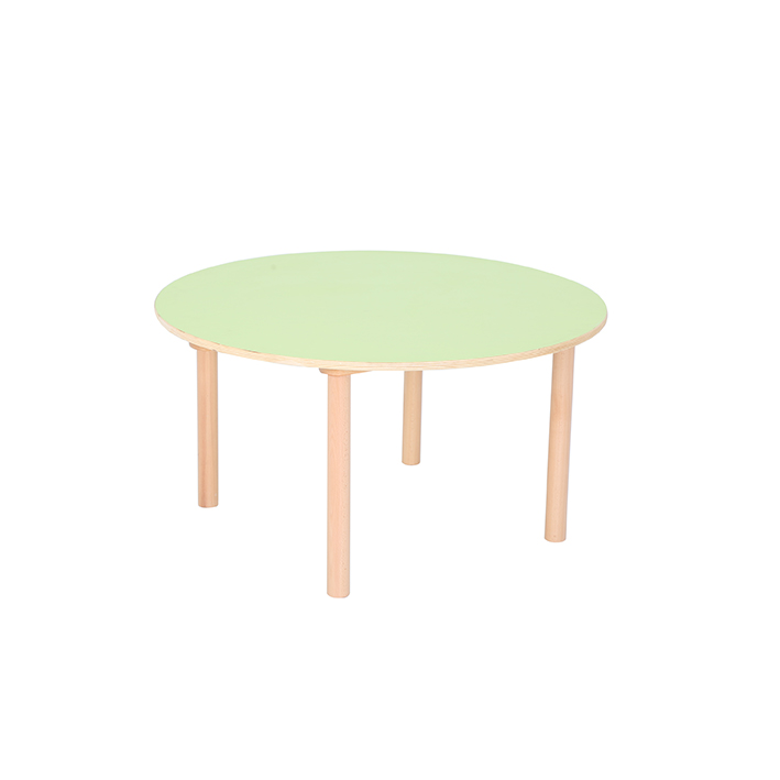 Pastel Green Round Table H460