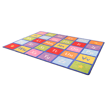 Large Alphabet Learning Rug