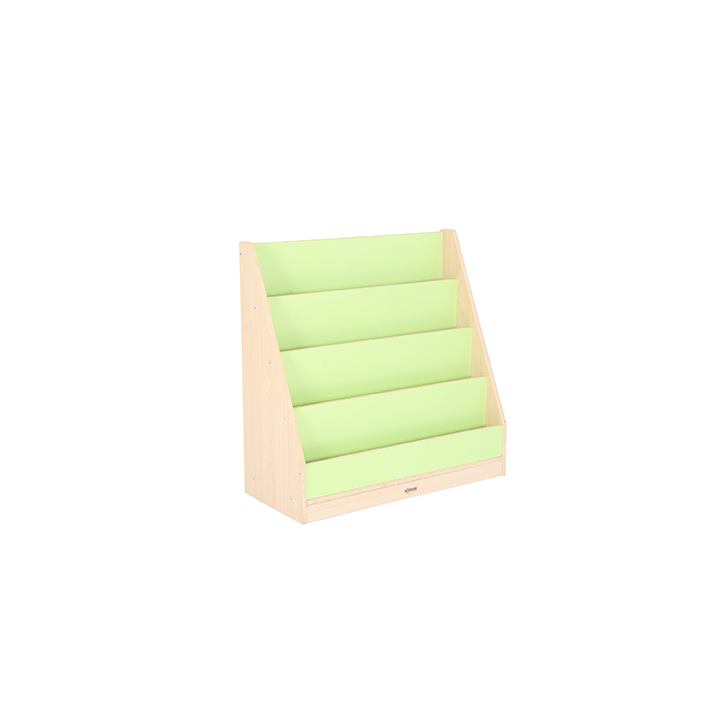 4 Tier Book Display Green/Maple