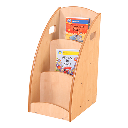 3 Compartment Book Display