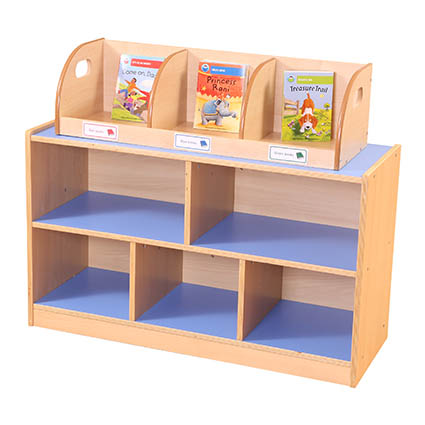 Desktop Book Display and Storage Unit