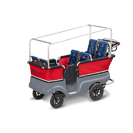 E-Turtle Kiddy Bus- 6 Seater